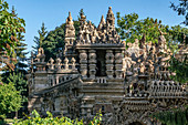 Palais idéal built 1879-1912 by the land-postman Ferdinand Chaval in Hauterives, Drome, France