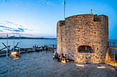 Tour du Portalet, fortified tower, Saint Tropez, Cote d Azur, France