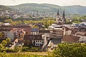 Townscape of Bingen, Germany