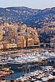 City Harbor at Dawn,Monte Carlo, Monaco