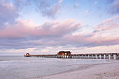 Naples Pier at Dawn,Naples, Florida, USA