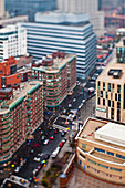 Geschäftige City Street, New York, New York, New York, USA