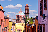 Church in Urban Area,San Miguel de Allende, Guanajuato, Mexico