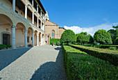 Palazzo Piccolomini Garden, Tuscany, Italy