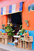Fruit and Vegetable Shop, Chiapas, Mexico