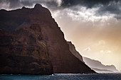 Cape Verde, Island Santo Antao, landscapes, hiking, mountains, ocean, coastline