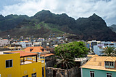 Cape Verde, Island Santo Antao, landscapes, mountains, coastline, rooftop terrace\n\n\n\n\n\n