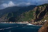 Kap Verde, Insel Santo Antao, Küste mit Dorf Paul