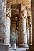 Tempelwache im Tempel von Dendera, Ägypten