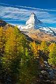 Gipfel, Matterhorn, Zermatt, Schweiz