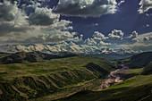 Transala Mountains, Kyrgyzstan, Asia