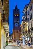 Via Carlo Alberto, Monza, Lombardy, Italy, Europe