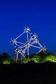 The Atomuim, Brussels, Belgium, Europe