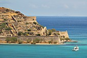 Spinalonga Island, Elounda, Crete Island, Greek Islands, Greece, Europe