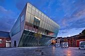 Le Manege Theatre, Mons, Wallonia, Belgium, Europe