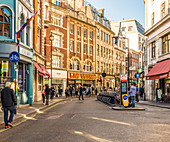 Wardour Street in Soho, London, England, United Kingdom, Europe