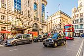 A view of Haymarket, London, England, United Kingdom, Europe