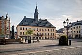 Annaberg City Hall, UNESCO World Heritage Montanregion Erzgebirge, Annaberg, Saxony