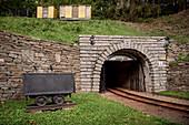 Entrance to the mine? Markus-R? Hling-Stolln ?, UNESCO World Heritage Montanregion Erzgebirge, Frohnau, Annaberg, Saxony