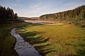 Trinwassertalsperre Lehnm? Hle, UNESCO World Heritage Montanregion Erzgebirge, Saxony
