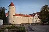 Castle Freudenstein, Old Town Freiberg, UNESCO World Heritage Montanregion Erzgebirge, Freiberg, Saxony