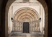 Golden Gate? in Freiberg Cathedral, historic old town Freiberg, UNESCO World Heritage Montanregion Erzgebirge, Freiberg, Saxony