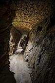 ?Underground? in Rudolphschacht in mining area Lauta, UNESCO World Heritage Montanregion Erzgebirge, Marienberg, Saxony