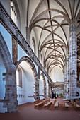 Kreuzgew? Lbe in St Wolfgang's Church, Historic Old Town Schneeberg, UNESCO World Heritage Montanregion Erzgebirge, Schneeberg, Saxony