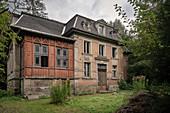 Directors Villa, Blindarbenwerk Schindler's work near Zschorlau, UNESCO World Heritage Montanregion Erzgebirge, Schneeberg, Saxony