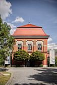 Power Plant Langweid (Lech Museum Bavaria), UNESCO World Heritage Historical Water, Augsburg, Bavaria, Germany