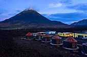 Cape Verde, Fogo Island, Casa Marissa, vulcano