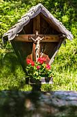 Ein klassisches Wegkreuz, Radein, Südtirol, Alto Adige, Italien