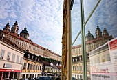 Old town with monastery Melk, Lower Austria, Austria