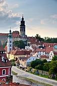 Krumlov on the Vltava, South Bohemia, Czech Republic