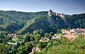 Burg von Frain an der Thaya, (Vranov), Mähren, Tschechien