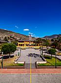 Äquatorlinie, Ciudad Mitad del Mundo (Mitte der Weltstadt), Provinz Pichincha, Ecuador, Südamerika