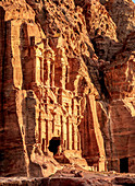 Corinthian Tomb, Petra, UNESCO World Heritage Site, Ma'an Governorate, Jordan, Middle East
