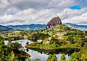 El Penon de Guatape (Rock of Guatape), Antioquia Department, Colombia, South America