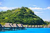 Tropical resort, Bora Bora, French Polynesia