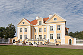 Exterior of Palmse Manor, Estonia
