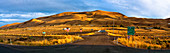 Freeway Onramp with Hills in Background,Richland, Washington, United States