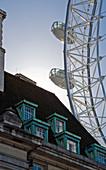 Building with Ferris Wheel,London, United Kingdom