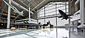 Flugzeuge in einem Museum, McMinnville, Oregon, USA