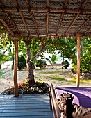 Covered Porch,Yaqeta Island, Fiji