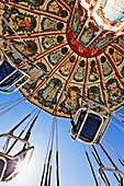 Swing Ride at the Fair,Dallas, Texas, United States