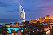 Burj al Arab Hotel and Madinat Jumeirah Resort,Dubai, United Arab Emirates