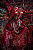 Kirgisin in Jurte, Afghanistan, Asien