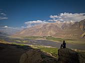 Yamchun Fortress in Wakhan, Tajikistan, Asia