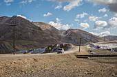 Pass Ak Baital, Pamir, Tadschikistan, Asien