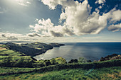 Coastal landscape in the Azores, Sao Miguel, Azores, Portugal, Atlantic, Atlantic Ocean, Europe